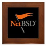 NetBSD Devotionalia Framed Tile