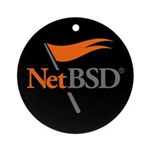 NetBSD Devotionalia Ornament (Round)