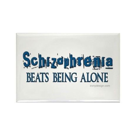 Schizophrenia ... Rectangle Magnet