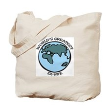 Greatest Ex-Wife Tote Bag