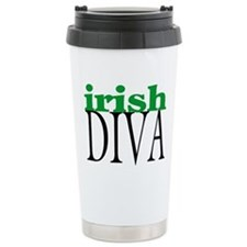 Irish Diva Ceramic Travel Mug