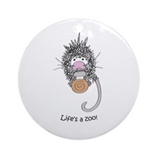 Coendou Ornament (Round)