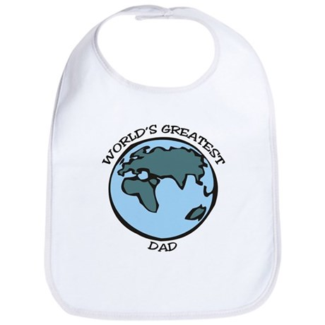 Greatest Dad Bib