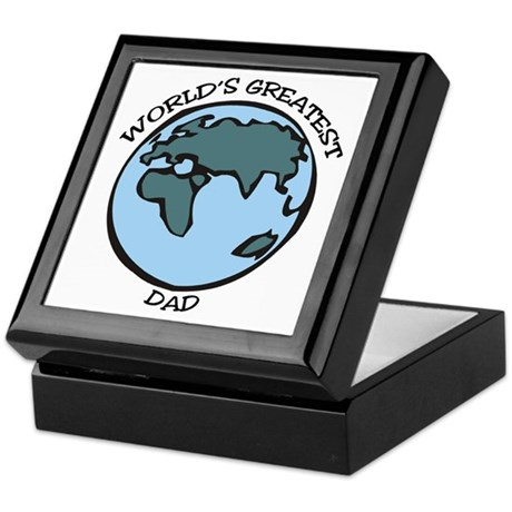 Greatest Dad Keepsake Box
