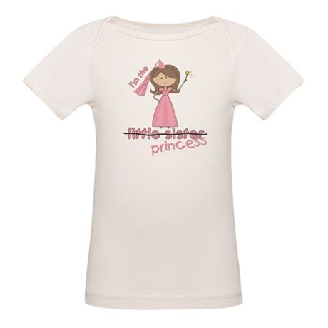 i'm the princess little Organic Baby T-Shirt