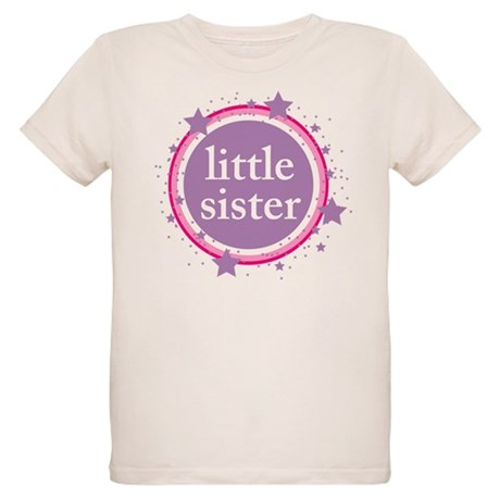 pink & purple little sister Organic Kids T-Shirt