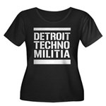 Detroit Techno Militia Women's Plus Size Scoop Nec