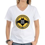 Detroit Techno Militia Women's V-Neck T-Shirt