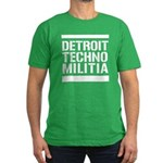 Detroit Techno Militia Men's Fitted T-Shirt (dark)