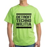 Detroit Techno Militia Green T-Shirt