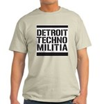 Detroit Techno Militia Light T-Shirt