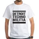 Detroit Techno Militia White T-Shirt