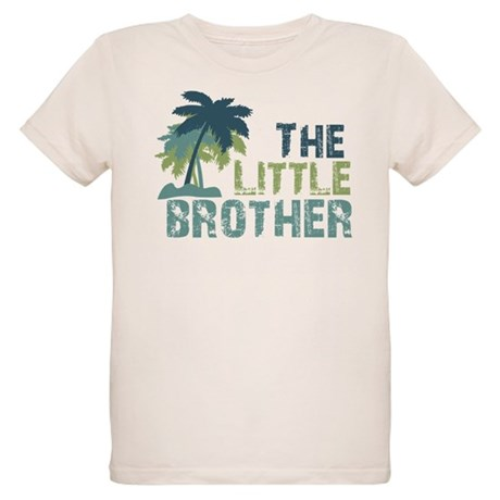 little brother palm tree Organic Kids T-Shirt