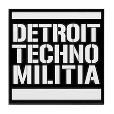 Detroit Techno Militia Tile Coaster