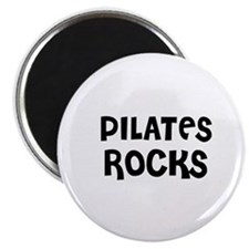 PILATES ROCKS Magnet
