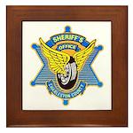 Charleston County Sheriff Framed Tile