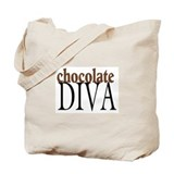 Chocolate Diva Tote Bag