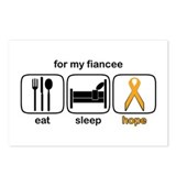 Fiancee ESHope Leukemia Postcards (Package of 8)