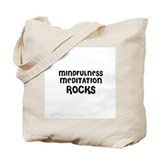 MINDFULNESS MEDITATION  ROCKS Tote Bag