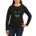 WORLDBEAT Women's Long Sleeve Dark T-Shirt