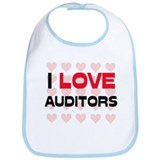 I LOVE AUDITORS Bib