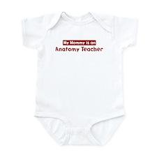 Mom is a Anatomy Teacher Infant Bodysuit