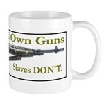 Free Men own rifles Mug