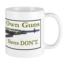 Free Men own rifles Small Mug