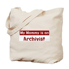 Mom is a Archivist Tote Bag