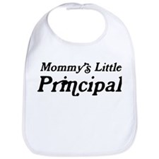 Mommys Little Principal Bib