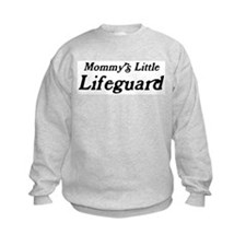 Mommys Little Lifeguard Sweatshirt