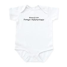 Mommys Little Forensic Anthro Infant Bodysuit