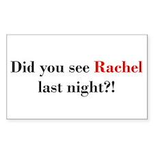 Rachel Fan Decal