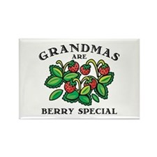 Berry Special Grandma Rectangle Magnet
