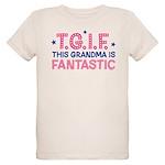 TGIF Fantastic Grandma Organic Kids T-Shirt