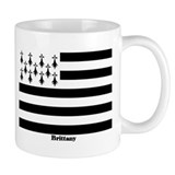 Brittany Flag Coffee Mug