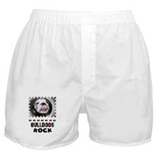 BULL DOGS ROCK Boxer Shorts
