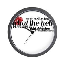 """What The Hell"" - Wall Clock"