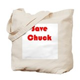 Save Chuck Tote Bag