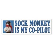 Co-pilot Bumper Bumper Sticker