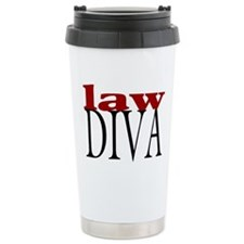 Law Diva Ceramic Travel Mug