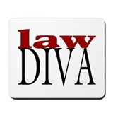 Law Diva Mousepad
