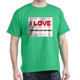 I LOVE ADVERTISING COPYWRITERS T-Shirt