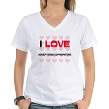 I LOVE ADVERTISING COPYWRITERS Shirt