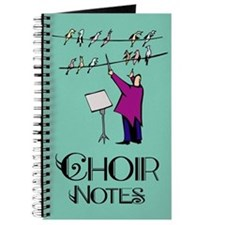 Choir Notes Music Journal