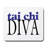 Tai Chi Diva Mousepad