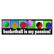 Basketball Bumpersticker