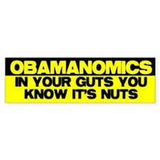 Obamanomics Bumper Sticker (50 pk)