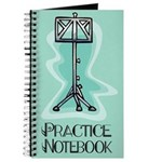 Musician Practice Notebook Journal