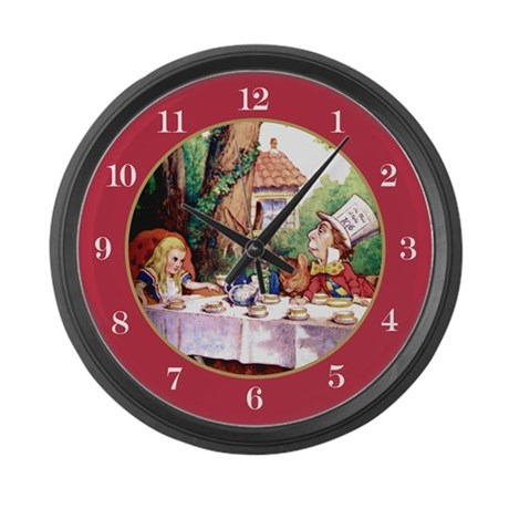 mad hatter clock